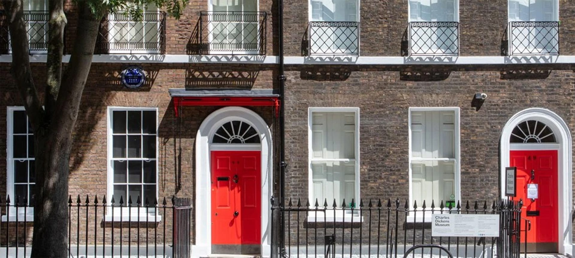 Welcome to 48 Doughty Street, the London home of Charles Dickens. This is where the author wrote Oliver Twist, The Pickwick Papers and Nicholas Nickleby. It's where he first achieved international fame as one of the world's greatest storytellers.