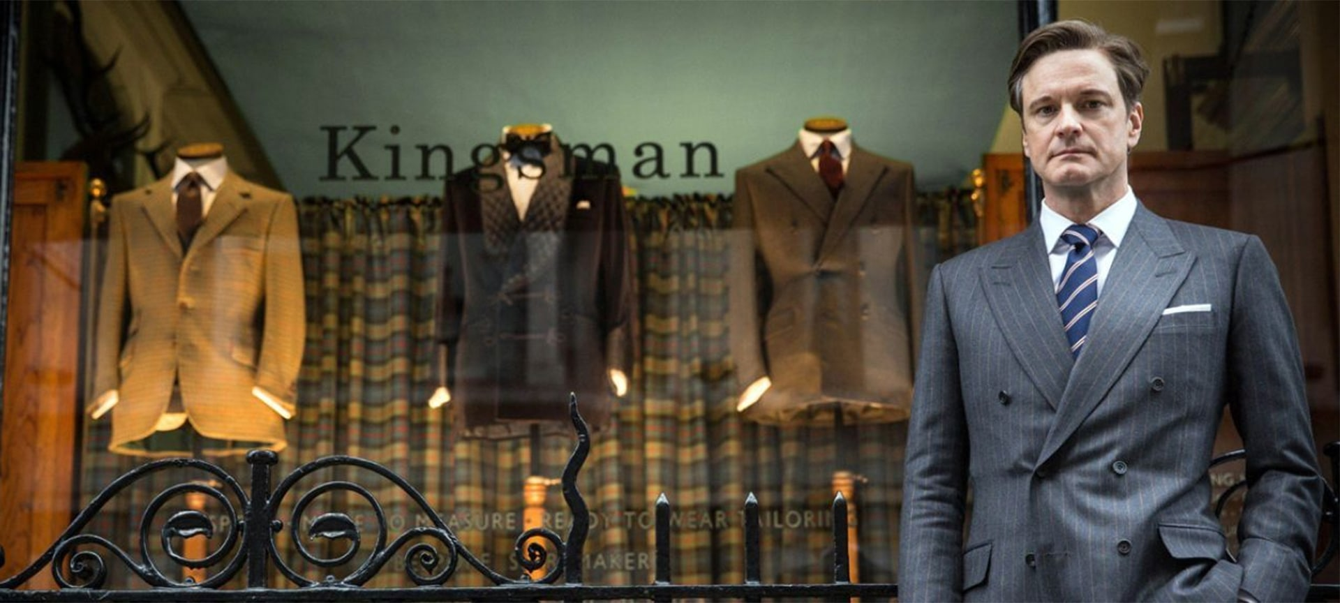 Huntsman served as the inspiration for Matthew Vaughn's blockbuster Kingsman movies The Secret Service, The Golden Circle and The King's Man. During an appointment with his cutter, Vaughn imagined moving beyond the walls of his fitting room, with the legendary premises acting as a smokescreen for his team of spies, the Kingsmen.