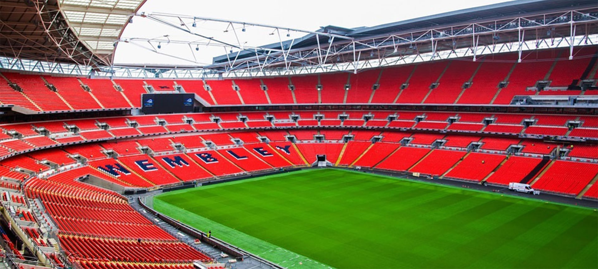 Wembley Stadium is a football stadium in Wembley, London. It opened in 2007 on the site of the original Wembley Stadium, which was demolished from 2002 to 2003. The stadium hosts major football matches including home matches of the England national football team, and the FA Cup Final.