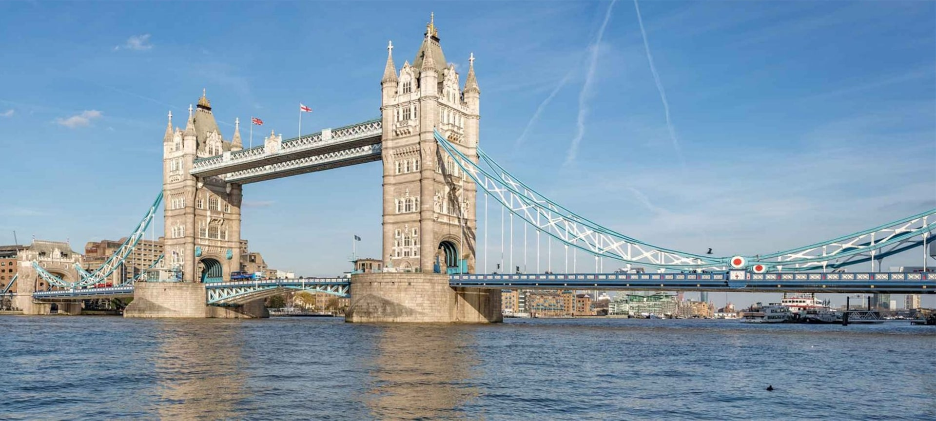 Tower Bridge has stood over the River Thames in London since 1894 and is one of the finest, most recognisable bridges in the world. A visit to London just isn't complete until you see Tower Bridge open for a passing ship.