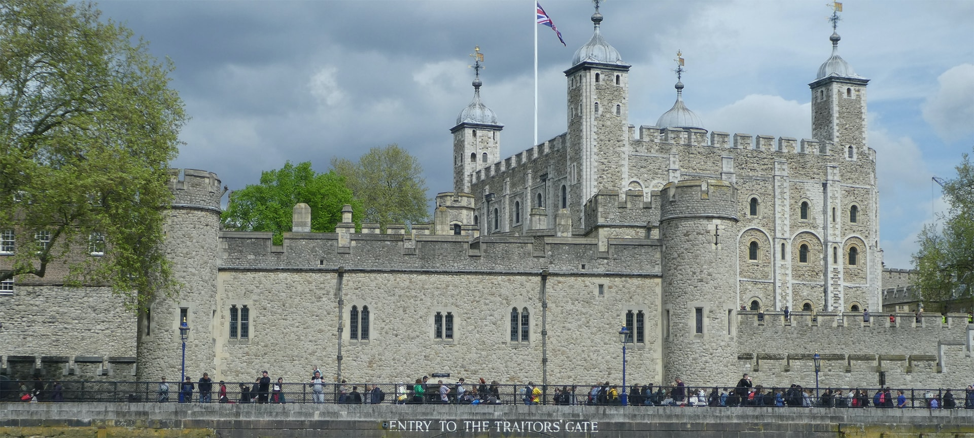For centuries, British prisoners accused of treason had a special, particularly horrifying route by which they were taken into the Tower of London. Traitors' Gate was originally called Water Gate, because that is what it was, a means for King Edward I and other royals to get into St. Thomas's Tower by water. When the gate was built in the late 1270s, along the River Thames, the tower was a residence for the royal family. Over time, the Tower of London was more and more commonly used as a prison for those accused of treason against the crown, and those prisoners were brought to the tower by water. The first known use of the name