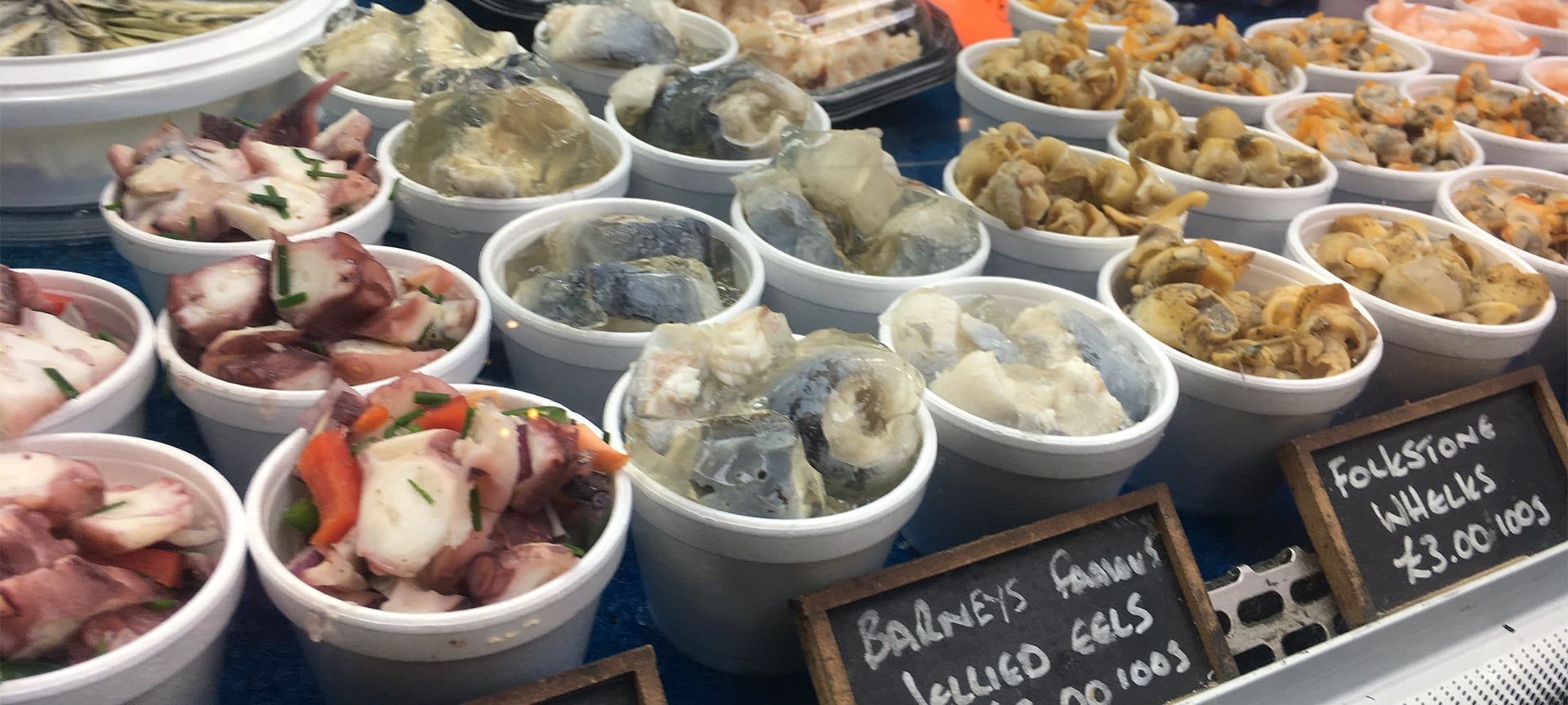 If you had to name one staple food of the East End of London, it would no doubt be jellied eels. Jellied eels and London have a history that is hundreds of years old, going back to the times when the eel population was thriving in the River Thames. Today, despite the eels disappearing from the river, only a handful of local merchants remain.