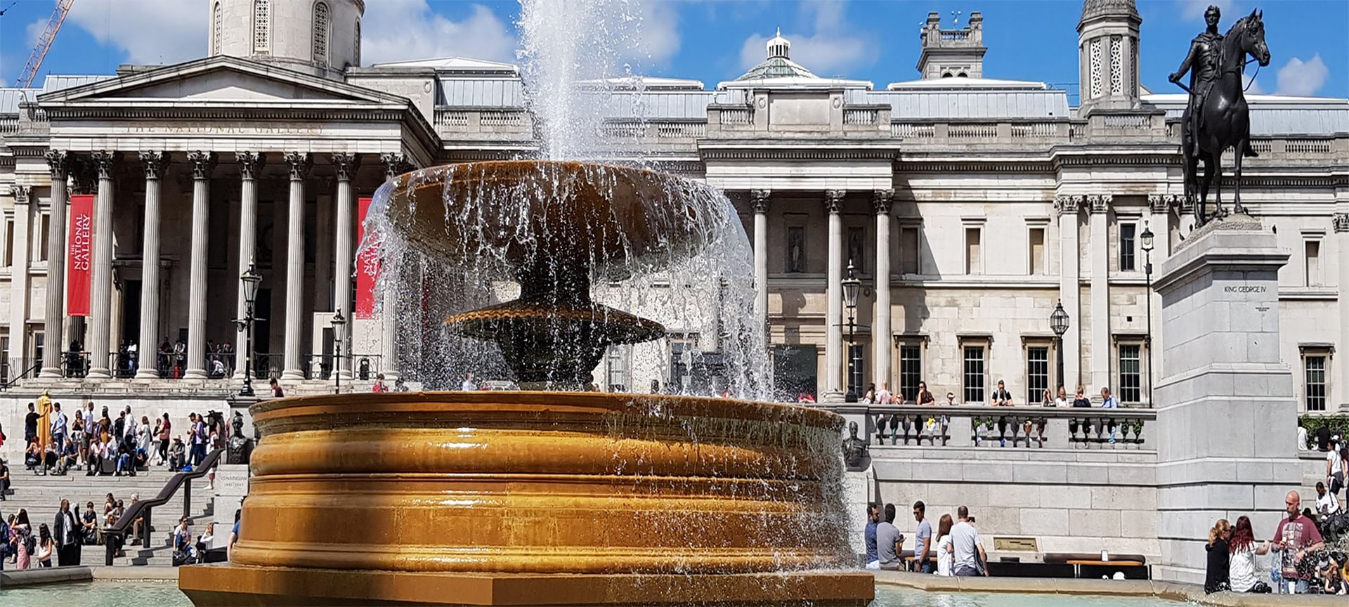 As well as being one of the most recognisable movie locations in the world, Trafalgar Square has plenty of photo opportunities. There's plenty to see in Trafalgar Square including Nelson's Column, the Trafalgar Square Lions, two fountains, various statues, the Trafalgar Square Police Box which was the smallest police station in London, The National Gallery and the Portrait Gallery